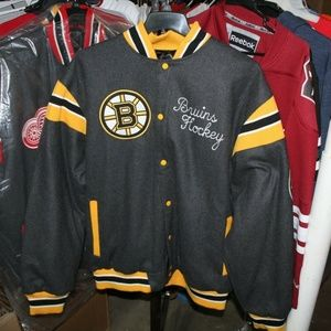 GIII Reversible Boston Bruins Wool Coat